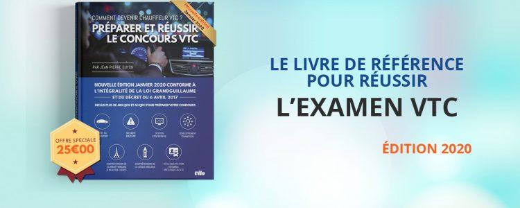 Livre VTC:  formation à l'examen VTC – Edition 2020